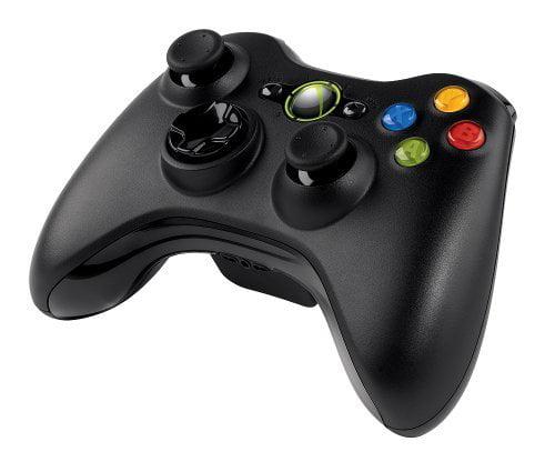 Microsoft Xbox 360 Wireless Controller for Windows - Wireless - Radio Frequency - USB, Headphone - PC