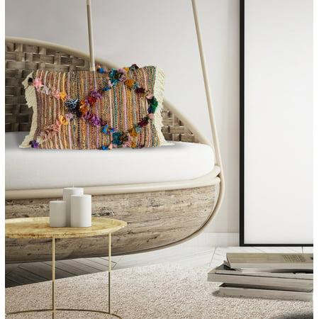 Diamond Decorative Pillow (Better Homes & Gardens Veracruz Diamond Decorative)