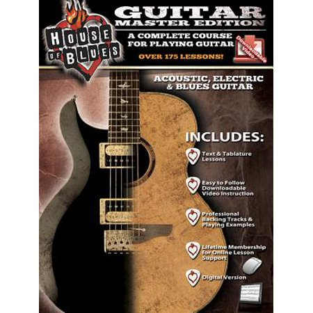 House of Blues Guitar - Master Edition Delta Blues Guitar Tabs