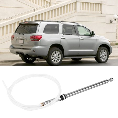 Ymiko Radio Antenna, FM Antenna,Car Replacement Power Aerial AM/FM Radio Antenna Mast Cable for Toyota Sequoia 01-07 86337AF011