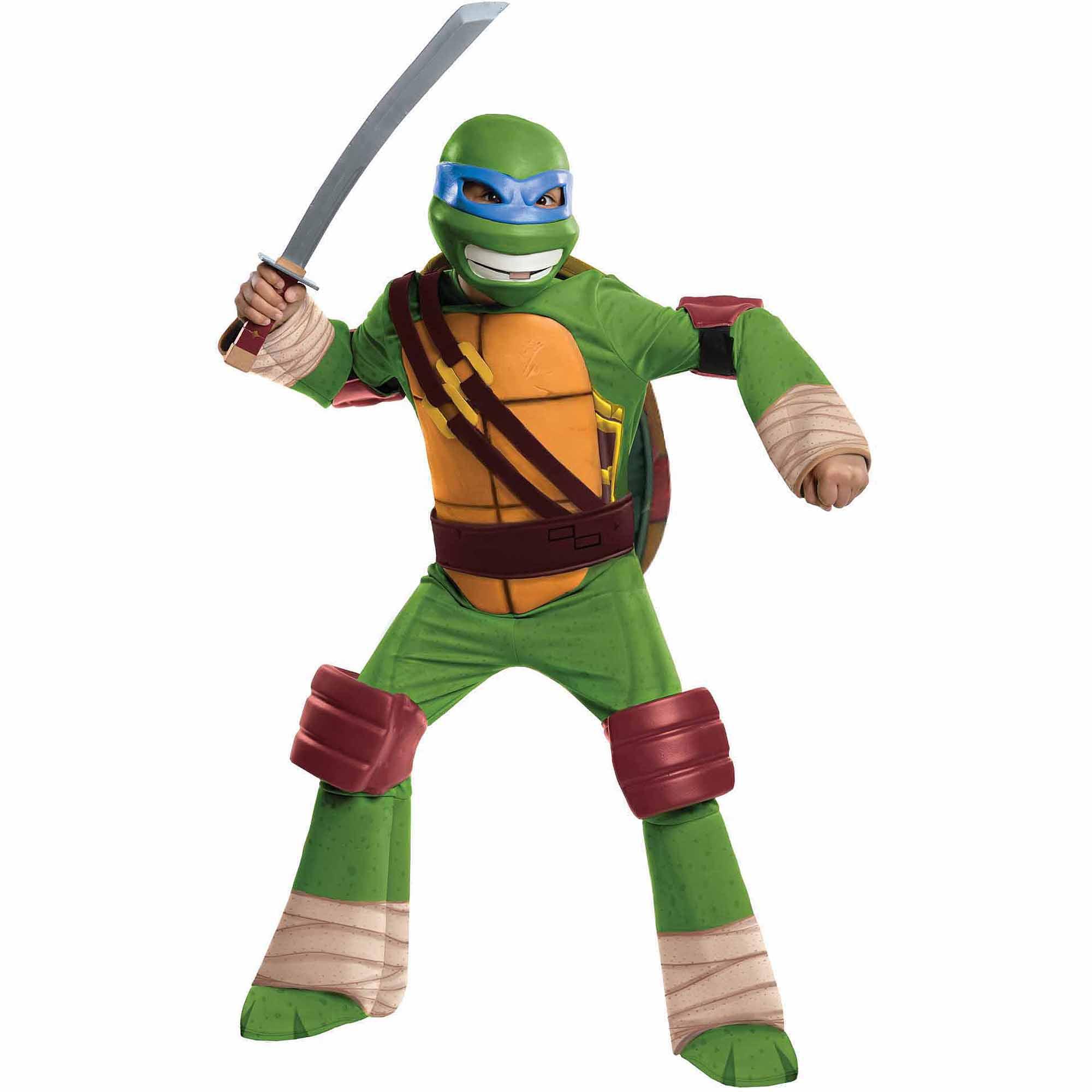 Teenage Mutant Ninja Turtles Leonardo Deluxe Child Halloween Costume