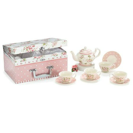 Burton & Burton Tea Set Child Roses With