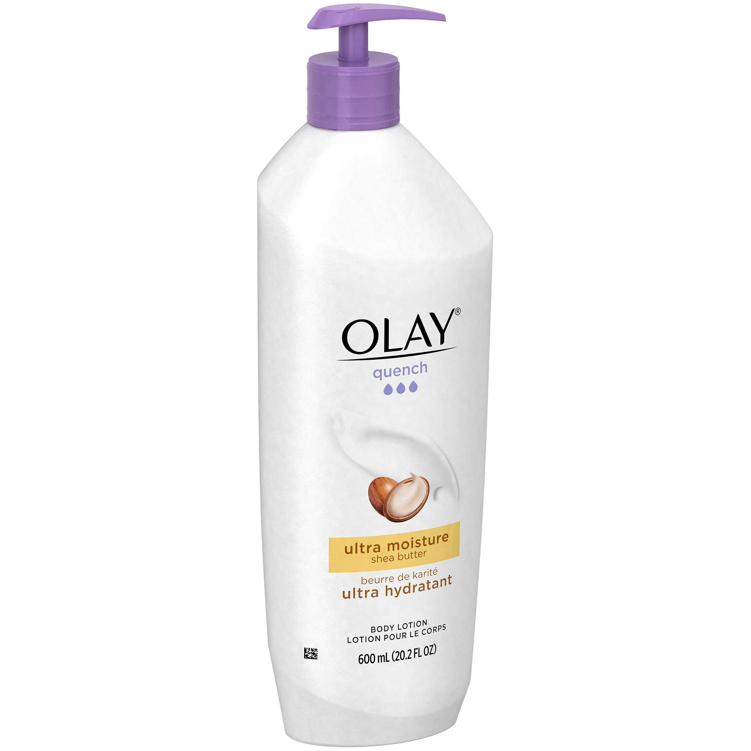 Olay Quench Ultra Moisture Shea Butter Body Lotion 20.2 fl. oz. Pump