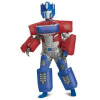 Hasbro's Transformers Boys Deluxe Optimus EG Inflatable Halloween Costume
