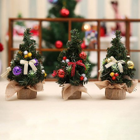 Surprising Enjoy Mini Artificial Christmas Tree Christmas Decoration For Table And Desk Home Interior And Landscaping Ologienasavecom