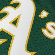 d3389bfa1 Rickey Henderson Oakland Athletics Mitchell   Ness 1991 Cooperstown ...