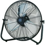 "Mainstays 20"" High Velocity Fan, Black"