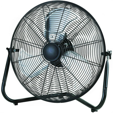 20  High Velocity Fan  Black