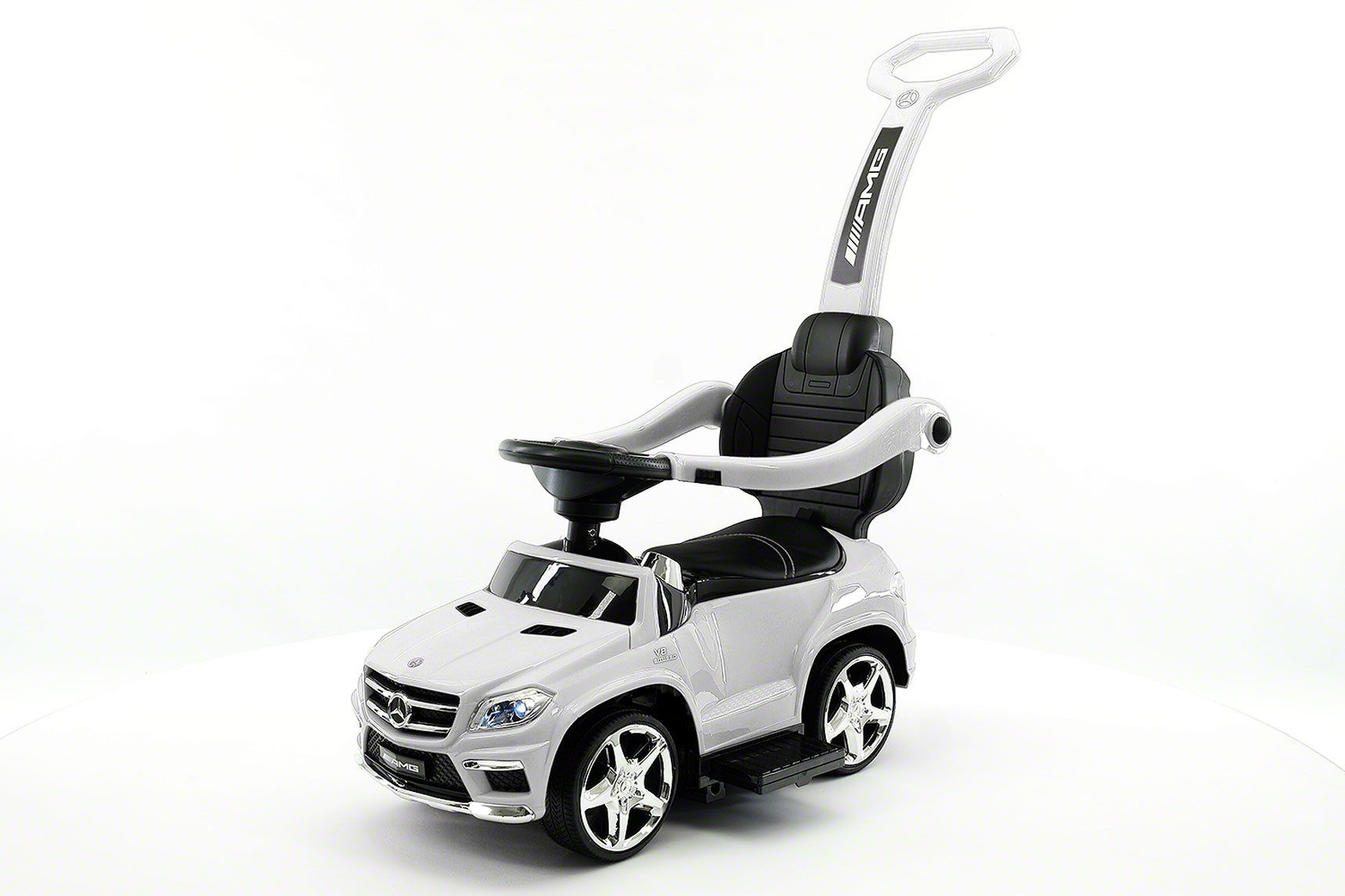 Mercedes Benz GL63 Kids Convertible Ride On Push Car by