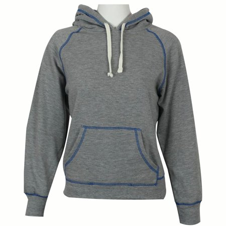 VALUE PRICE  > BUY 1 OR BULK  > $10  FLAT S/H  >  THE RAM BRAND  > Ladies Contrast Stitch Performance Hoodie  (XS-2XL) in - Bulk Sweatshirts