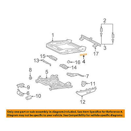 Cool Chrysler Oem 04 08 Crossfire Seat Track Seat Frame Insulation Wiring 101 Israstreekradiomeanderfmnl
