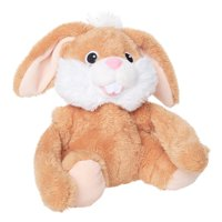 Way To Celebrate Easter Turn A Somersault Animated Plush Bunny