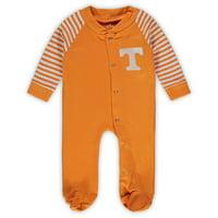 Tennessee Volunteers Infant Little Snap Sleeper - Tennessee Orange