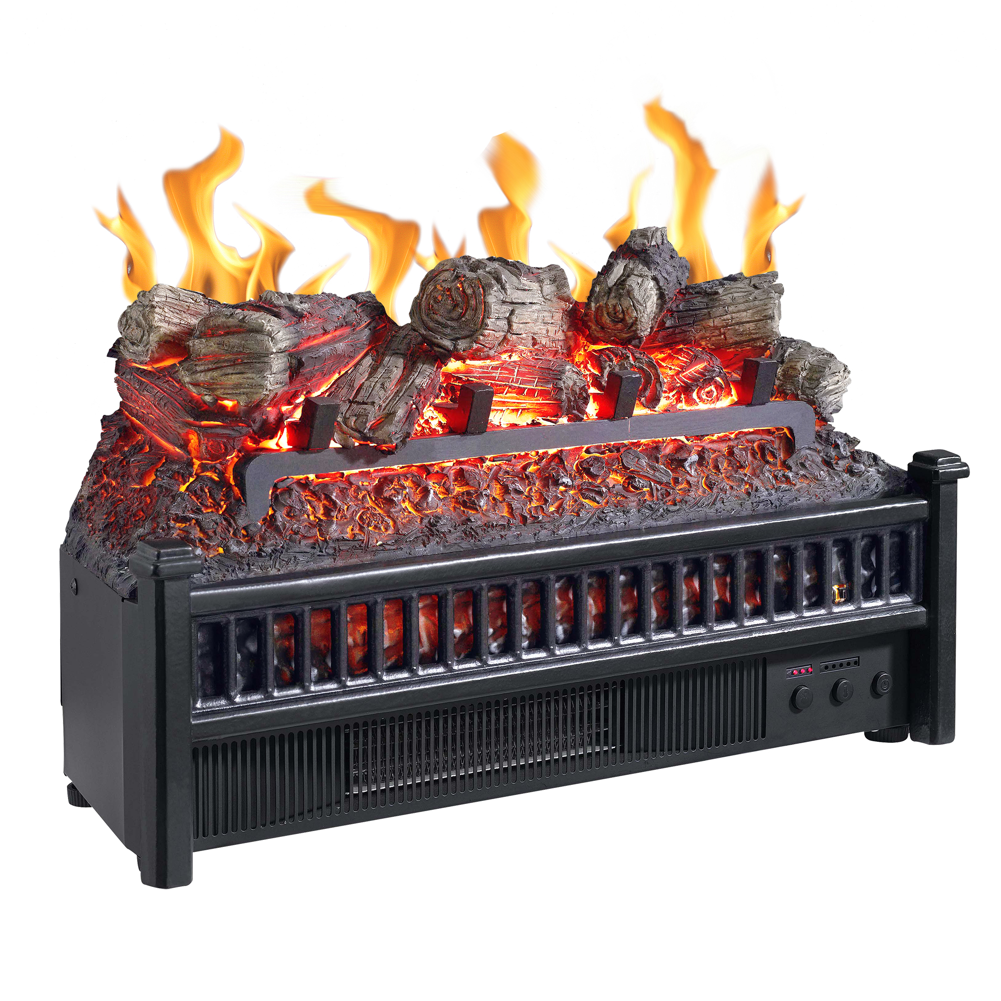 Pleasant Hearth Electric Log Insert with Heater
