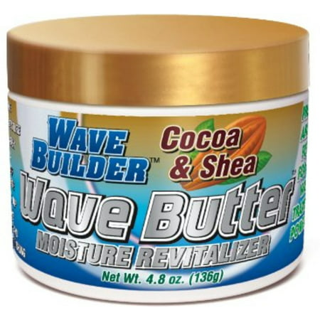 WaveBuilder Cocoa & Shea Wave Butter Moisture Revitalizer, 4.8 oz (Pack of