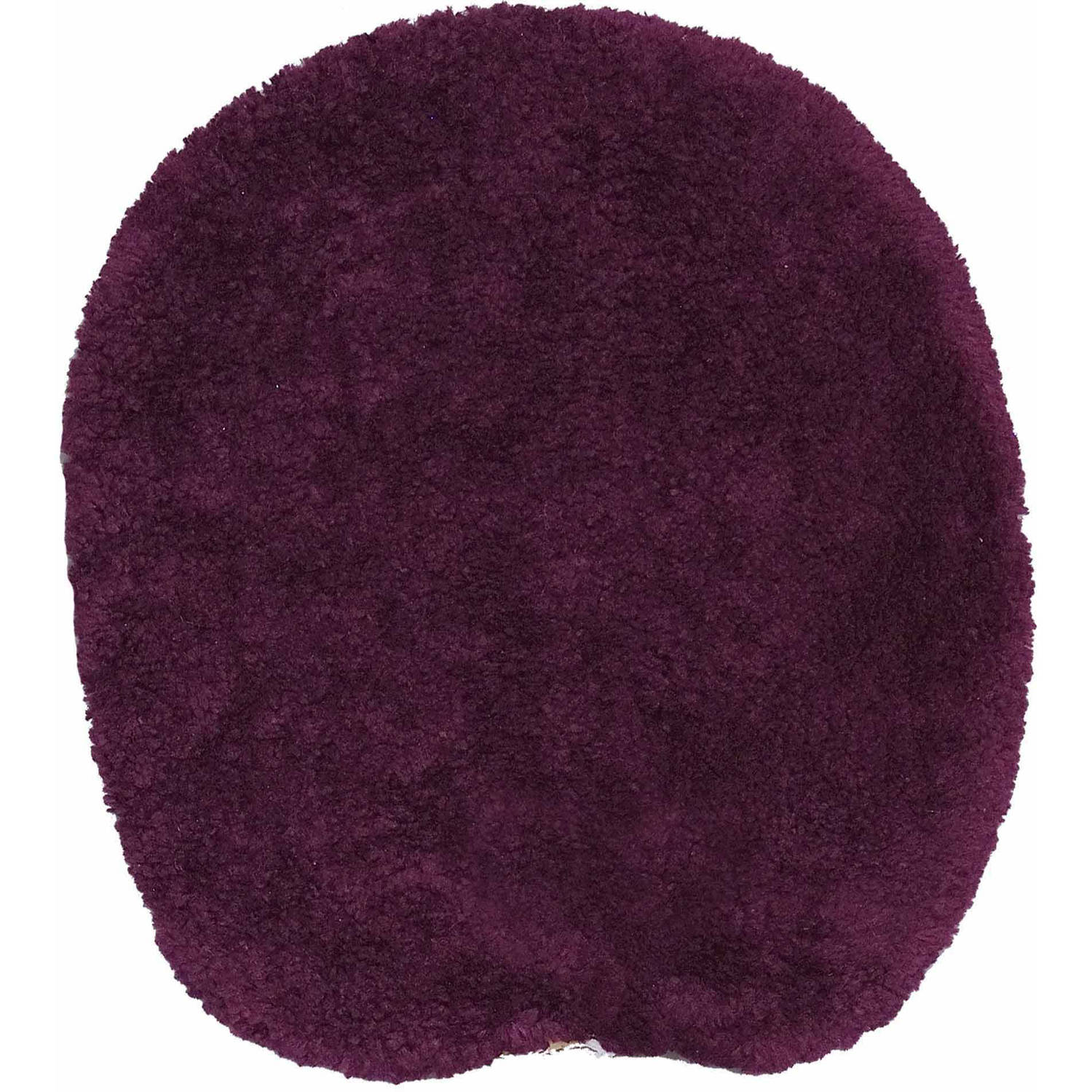 Mainstays Ms Universal Lid Cover Plush Plum