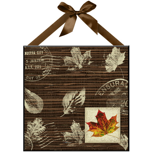 """Leaf Time"" Wall Plaque I"