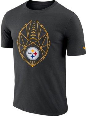 Product Image Nike Men s Pittsburgh Steelers Icon Performance Black T-Shirt bd6b314e6