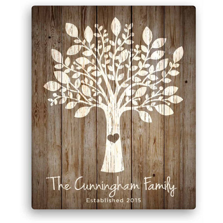 Personalized Wood Wall Art personalized home decor, wall art, housewarming gifts, doormats