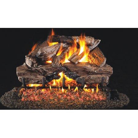 Charred Cedar Gas Logs 24
