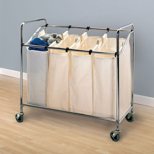 Household Essentials Quad Sorter, Chrome