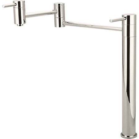 Pioneer 2MT700-PN Deck-Mounted Pot-Filler Faucet In a Polished Nickel