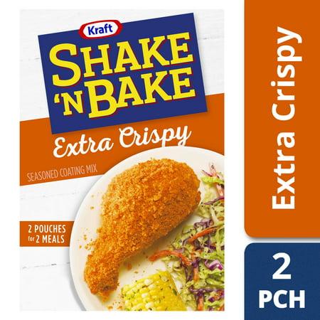 (3 Pack) Kraft Shake 'n Bake Extra Crispy Seasoned Coating Mix, 5 oz - Easy Apple Crisp With Cake Mix