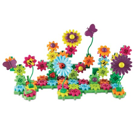 Learning Resources Gears! Gears! Gears! Build And Bloom Flower Garden - Learning Resources Gears