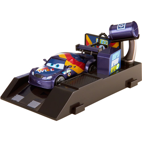 Disney Cars 2 Racer Pit Stop Launcher Max Schnell DTM