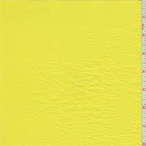 Sunshine Yellow Sueded Shimmer, Fabric By the Yard