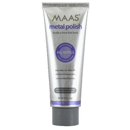 Maas Metal Cleaner (Maas International Metal Polish, 4-Ounce USA )