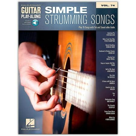 Hal Leonard Simple Strumming Songs  Guitar Play-Along Volume 74  - Audio Online - TAB - Halloween Guitar Tab