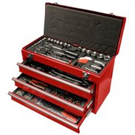 Perfect Chef 3 Piece Tool - Speedway 118 Piece, 3 Drawer Tool Chest