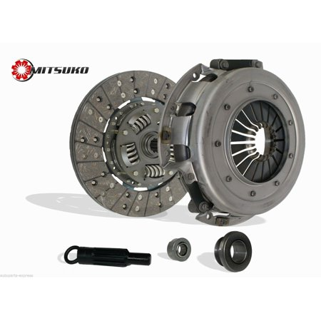 Clutch Kit works with Ford Mustang Gt Lx Svt Cobra Coupe Convertible Hatchback Jan/1986-2000 4.6L V8 Sohc 5.0L V8 Ohv Mustang Clutch Replacement