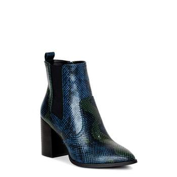 Scoop Womens Stefani Chelsea Heeled Boots