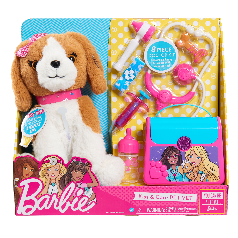 427ef4d0a Barbie Kiss & Care Pet Doctor Set - Walmart.com