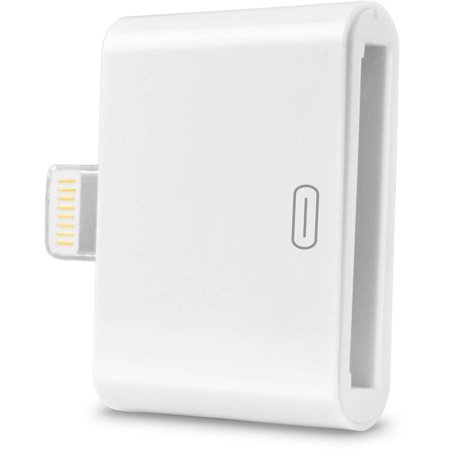 Ematic 30 Pin Adapter For Apple Lightning White Walmart Com