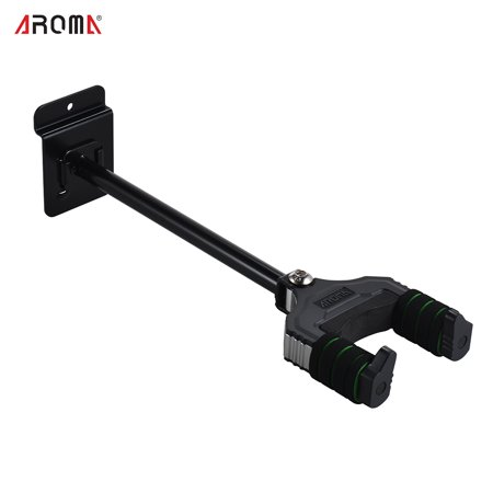 AROMA Musical Instrument Hanger Hook Holder Wall Mount with Sponge Cushion for Acoustic Electric Guitar Bass Mandolin