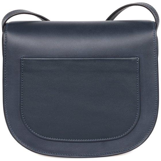 bd54a1670 Celine - Celine Trotteur Small Navy Blue Leather Crossbody Handbag ...