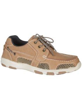 Reel Legends Mens Atlantic Drainage Boat Shoes