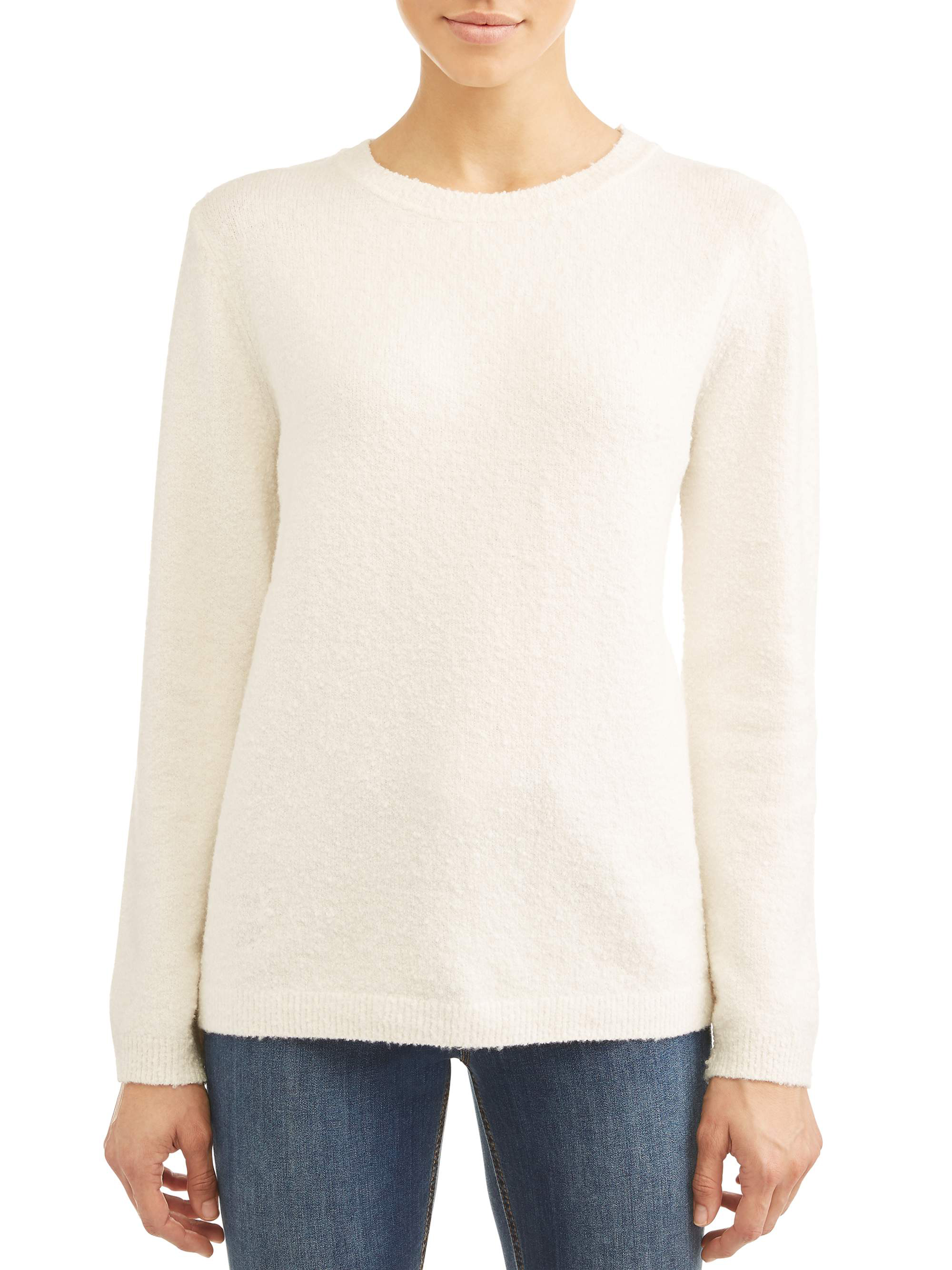 Women's Tyler 3/4-Sleeve Rolled Hem Sweater