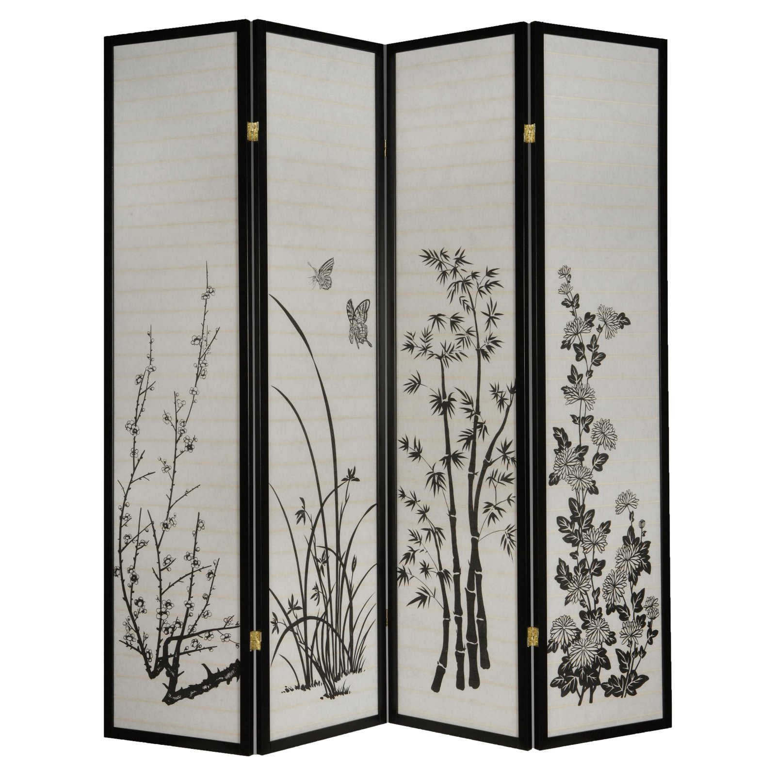 Milton Green Dean 4-Panel Room Divider