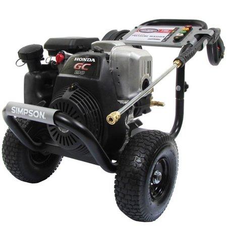 Simpson 60551 3200 PSI 2.5 GPM Gas Pressure Washer
