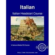 Italian Headstart Course - Modules 1-3