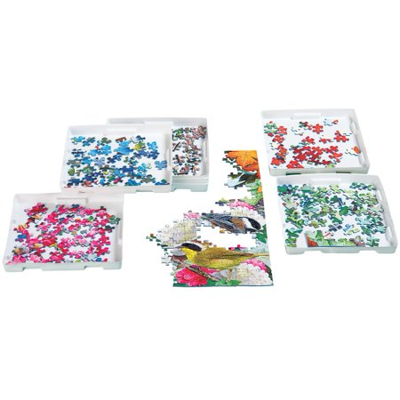 Jigsaw Puzzle Sorting Trays - Set Of 8