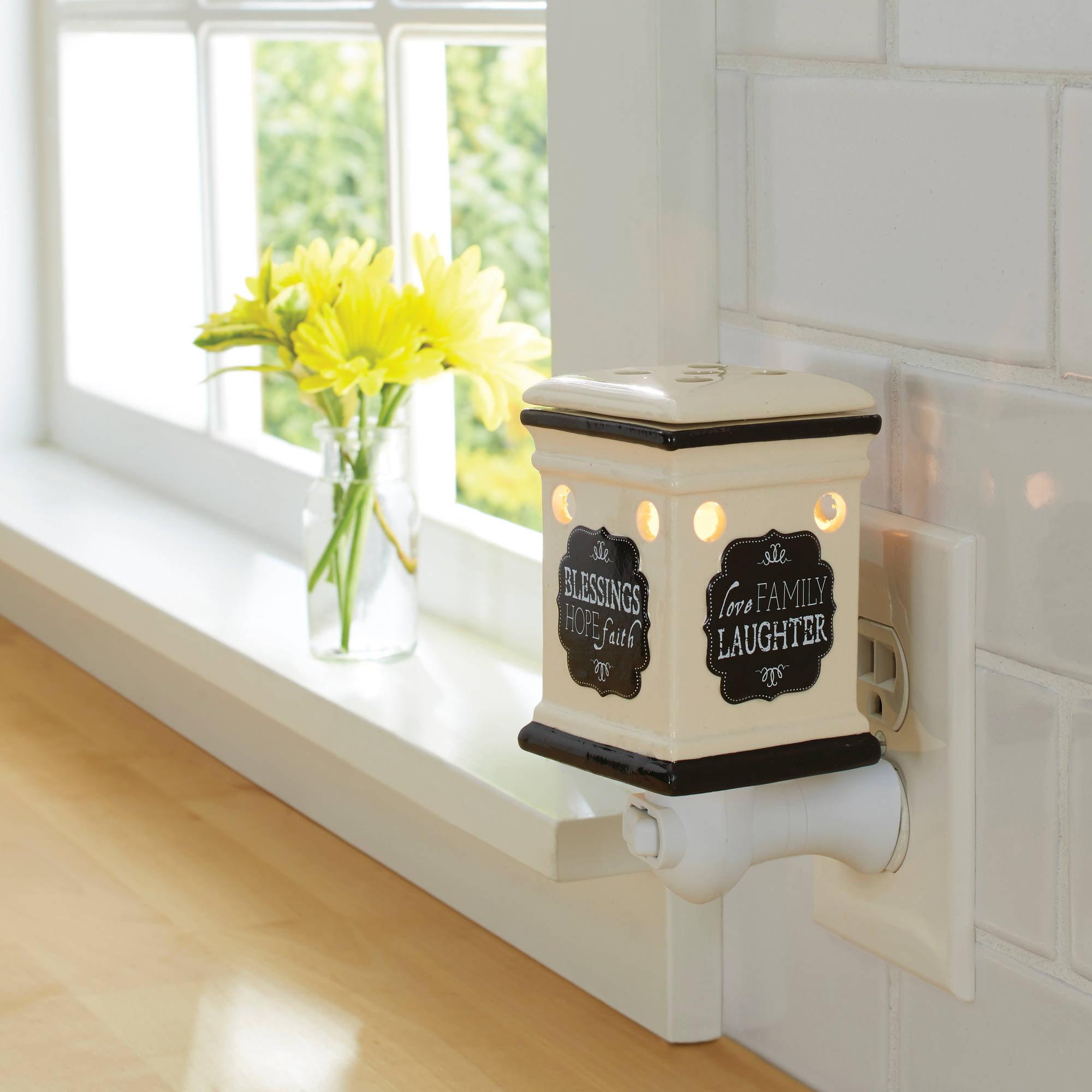 Better Homes And Gardens Amour Art Glass Wax Warmer