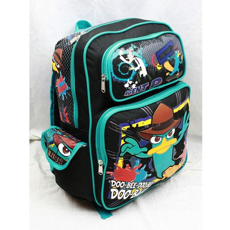Backpack - Phineas and Ferb - Agent P Doo-Bah! (Large School Bag) New a01524 - image 1 of 2