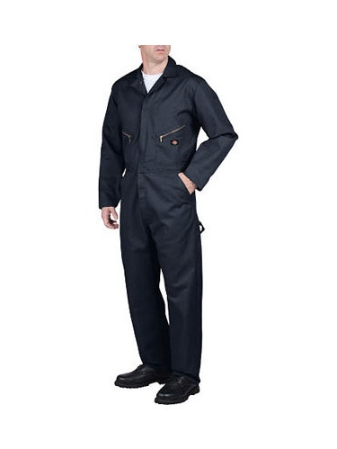 Men's Big & Tall Long Sleeve Deluxe Blended Coverall by Dickies
