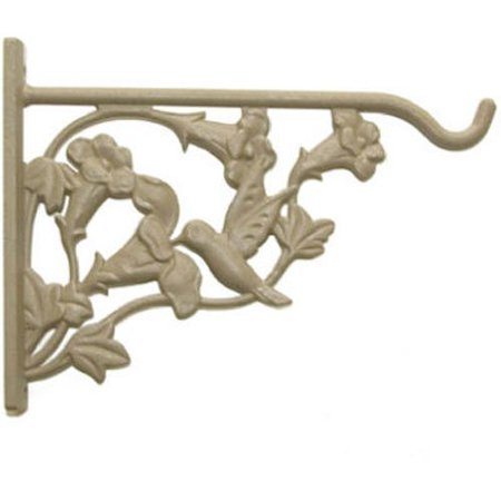 Hanging Baskets Hummingbirds - Hummingbird Wall Bracket to Hold Hanging Baskets, Bird Feeders by Panacea - 8