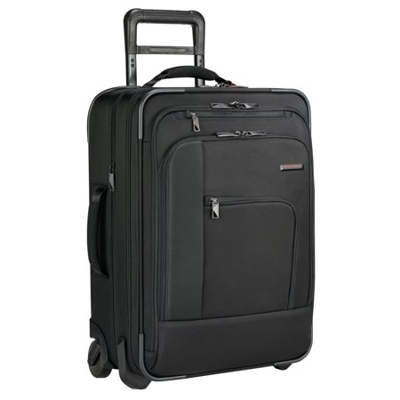 Briggs & Riley Pilot Carry-On, Black, One Size Briggs & Riley Wrinkle Free Carry On